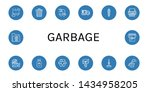set of garbage icons such as... | Shutterstock .eps vector #1434958205
