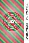 employee christmas emblem... | Shutterstock .eps vector #1434965918