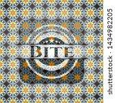 bite arabic emblem. arabesque... | Shutterstock .eps vector #1434982205