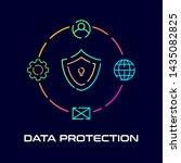 data protection illustration...