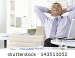 cheerful middle aged... | Shutterstock . vector #143511052