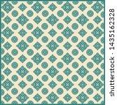 colored vintage background.... | Shutterstock .eps vector #1435162328