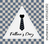 happy father day vintage gift... | Shutterstock .eps vector #1435162352