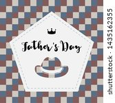 happy father day vintage gift... | Shutterstock .eps vector #1435162355