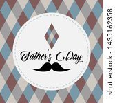 happy father day vintage gift... | Shutterstock .eps vector #1435162358