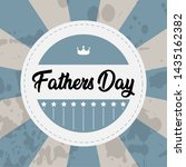 happy father day vintage gift... | Shutterstock .eps vector #1435162382