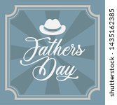 happy father day vintage gift... | Shutterstock .eps vector #1435162385