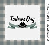 happy father day vintage gift... | Shutterstock .eps vector #1435162412