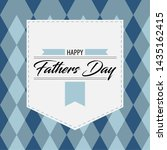 happy father day vintage gift... | Shutterstock .eps vector #1435162415