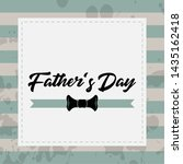 happy father day vintage gift... | Shutterstock .eps vector #1435162418