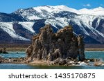 Tufa Formation At Mono Lake In...