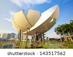 singapore   april 5  artscience ... | Shutterstock . vector #143517562