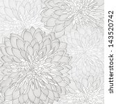 floral background. vector... | Shutterstock .eps vector #143520742