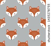 seamless vector pattern with... | Shutterstock .eps vector #1435278755
