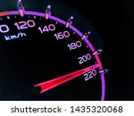 At A Speed Of 210 Kilometers...