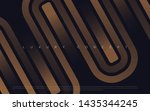 black premium background with... | Shutterstock .eps vector #1435344245