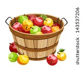 apple,autumn,background,basket,beautiful,beige,bio,brown,color,colorful,container,crop,design,drawing,eating
