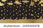 thai art vintage background...   Shutterstock .eps vector #1435433378