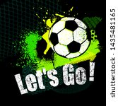 football vector illustration... | Shutterstock .eps vector #1435481165
