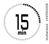 the 15 minutes countdown timer...