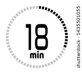 the 18 minutes countdown timer...