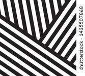 black and white intersecting... | Shutterstock .eps vector #1435507868