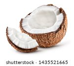 Coco. Coconut Half And Piece...