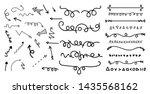 cartoon pictures set of... | Shutterstock .eps vector #1435568162