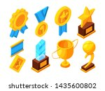 medals of honor and different... | Shutterstock . vector #1435600802