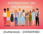 international day for tolerance ... | Shutterstock .eps vector #1435605482