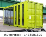 Green Cargo Container Converted ...