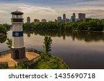 Minneapolis Skyline Reflected...