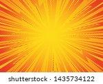 comic pop art background... | Shutterstock .eps vector #1435734122