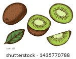 vector set of hand drawn...   Shutterstock .eps vector #1435770788