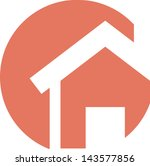 real estate symbol | Shutterstock .eps vector #143577856