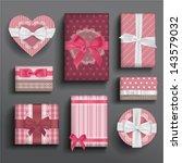 vector girly romantic valentine'...