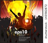 concert. vector illustration | Shutterstock .eps vector #143582872