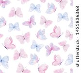 Cute Butterflies Hand Drawn...