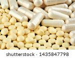 close up photo of many white... | Shutterstock . vector #1435847798