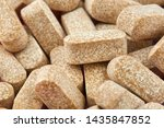 close up photo of many brown... | Shutterstock . vector #1435847852
