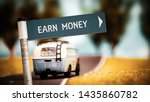 street sign the direction way... | Shutterstock . vector #1435860782