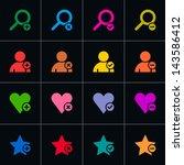 16 web pictogram set. volume 07....