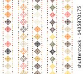 wrapping textile sample shapes.... | Shutterstock .eps vector #1435870175