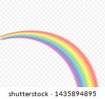 rainbows in different shape... | Shutterstock .eps vector #1435894895