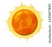 fantastic sun planet  icon...