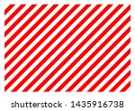 Red And White Diagonal Lines...