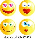 love smilies   Shutterstock . vector #14359483