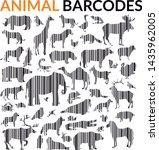 illustration of wildlife... | Shutterstock .eps vector #1435962005
