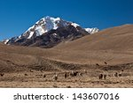 andes mountain | Shutterstock . vector #143607016