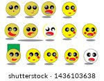 this is the character of a... | Shutterstock . vector #1436103638